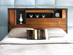 King Headboard With Storage Headboard With Storage Upholstered Headboard Storage Platform Bed