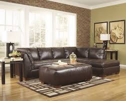 Low Sectional Sofa Ottoman Splendid Contemporary Furniture Low Leather Couch