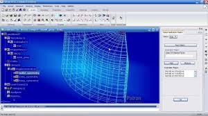 msc nastran patran tutorial linear static analysis of a 3d
