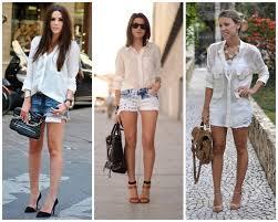 Favorito 5 opções de looks com camisa branca - Site de Beleza e Moda &UA37