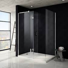 1400 Shower Door Saturn 8mm 1600 X 800mm Walk In Shower Enclosure Includes Side