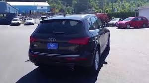 Audi Q5 2015 - 2015 audi q5 brilliant black stock 110017 walk around youtube