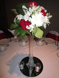vase centerpiece ideas decor beautiful dining table accessories ideas with eiffel tower