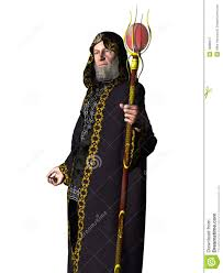merlin wizard costume wizard in robes with staff royalty free stock photography image