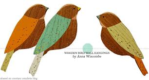 one thing wooden bird wall hangings home creature