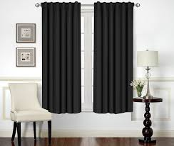 amazon com blackout room darkening curtains window panel drapes
