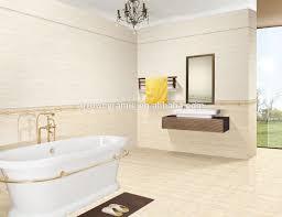 glazed interior travertine cream colored ceramic tile wall tile