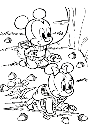fall leaves coloring page eson me