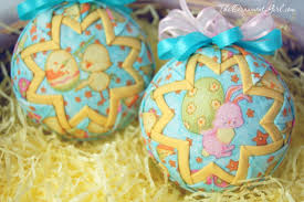 easter ornaments quilted ornament ideas for easter the ornament girl