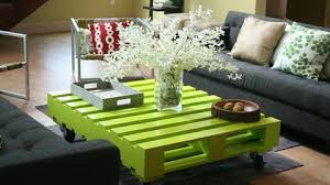 Colorful Coffee Tables 50 Wonderful Pallet Furniture Ideas And Tutorials