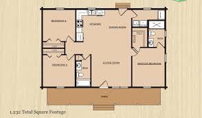 1500 sq ft open floor house plans