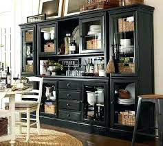 black dining table and hutch black dining room hutch kitchen small hutch with glass doors dining
