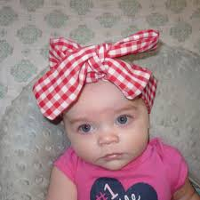 newborn headband big bow bows hair bow baby headband from goodtreasures123 on