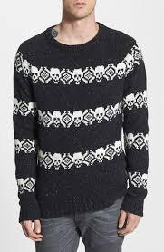 skull sweater deus ex machina skull fair isle sweater where to buy how to wear