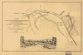 Battle Of New Orleans Civil War Map by A Civil War Letter
