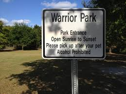 where s the park review of warrior park winter garden fl