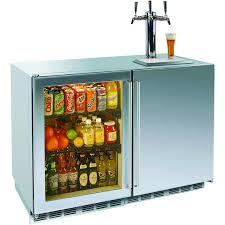 Kegregator Perlick 12 0 Cu Ft Outdoor Refrigerator Triple Tap Kegerator