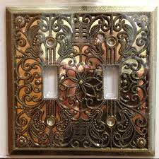 wall plates come in a variety of colors and styles this antique