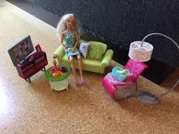 modern barbie wohnzimmer möbel set 80er gegenstand im für home