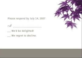 free wedding invitations online modern purple leaves online fall wedding invitation ewi049 as low
