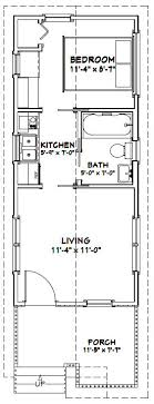 1 bedroom cottage floor plans 12x28 1 bedroom house 12x28h1c 336 sq ft excellent floor