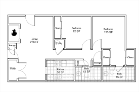 Alexis Condo Floor Plan 2 Bed 2 Bath Apartment From 789 Bennington Ridge