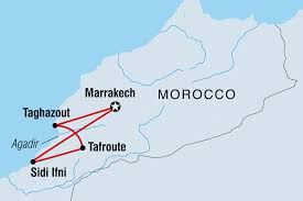 Morocco On World Map by Morocco Tours U0026 Travel Intrepid Travel Au