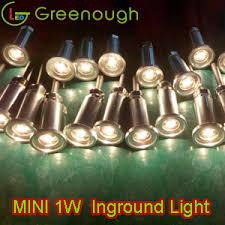 dc12v cree mini led underground lights led deck lights gnh ug 1w