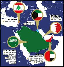 Middle East Region Map by Corporate Governance Winners 2017 Middle East Ethical Boardroom