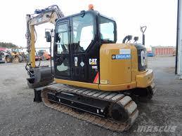 used caterpillar 308 e cr mini excavators 7t 12t year 2013