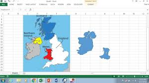 States Ive Been To Map by Creating A Dynamic Map In Excel Part 1 Of 4 Youtube
