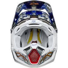 sixsixone motocross helmet fox racing limited edition v3 r2d2 star wars helmet chrome