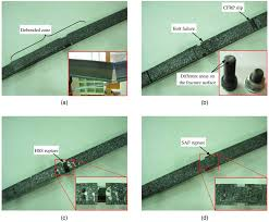 fatigue strengthening of cracked steel beams with different