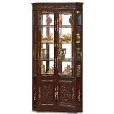 Oak Curio Cabinets Curio Cabinet Formidable Philipinisch Corner Curio Cabinet