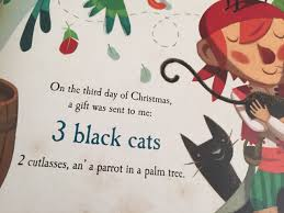 mama mummy mum a pirates twelve days of christmas book review