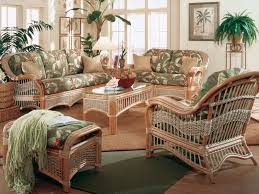 American Living Room Furniture Dining Room Enchanting American Rattan Settee With Floral