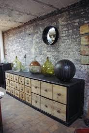 meuble de metier industriel ancien meuble de quincaillerie en bois par le marchand d u0027oublis