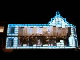 Christmas Projector Light by Projector Show In Kristiansand Christmas 2011 Youtube