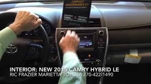 2015 toyota hybrid camry 2015 toyota camry hybrid le interior and exterior features by