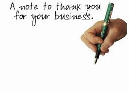 Thank You For Your Business Letter Sample by Professional Thank You Letter Sample Thank You Letter 07 30 Thank