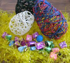 yarn easter eggs 5 steps with pictures