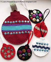 bugs and fishes by lupin felt ornament how to 2 baubles