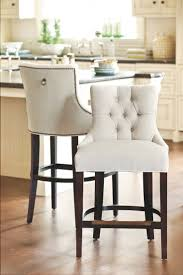 top 25 best kitchen counter stools ideas on pinterest counter this upholstered counter stool features a decorative antique brass finish ring at the back that enhances the couture look