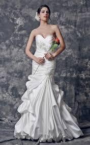 trumpet mermaid bridal dresses sassy fishtail wedding gowns
