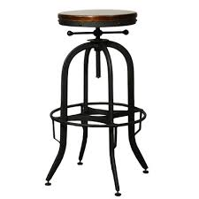 Industrial Adjustable Bar Stools Trent Austin Design Empire Adjustable Height Swivel Bar By