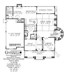 lighthouse floor plans windy point lighthouse plan house plans by garrell associates inc