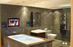 bathroom tv ideas bathroom with tv ideas lovely custom bathroom audio visual av