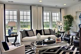 Black and White Interior Design Ideas for Living Room