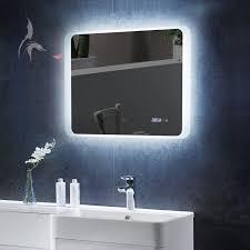 badspiegel led beleuchtung badspiegel led uhr haus renovieren