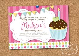 14th birthday party invitations birthday invitations cupcake invitations 1st birthday invite